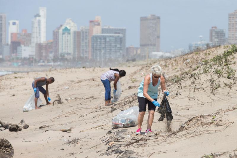 Durban clean up