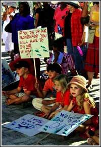 Kids Protest