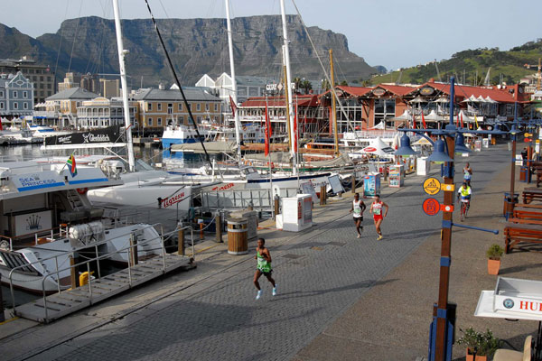 Table Mountain and V&A Waterfront