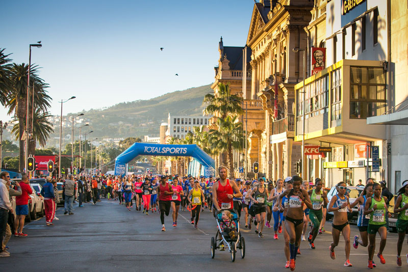 Totalsports Women's Race Cape Town in August