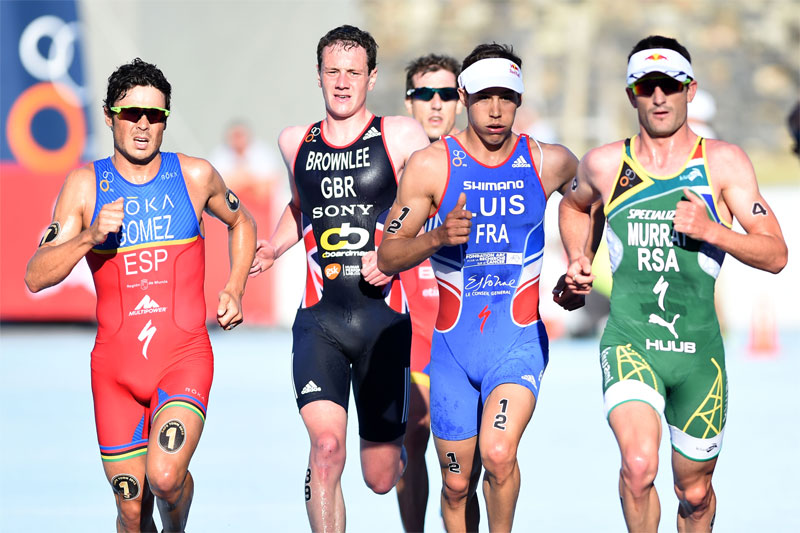 Alistair Brownlee top in Cape Town