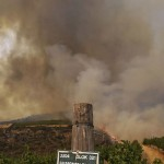 Fires cause drop in agricultural production