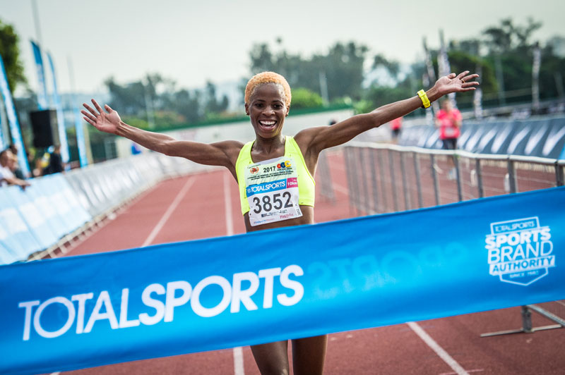 Mapaseka Makhanya - Totalsports Women's Race