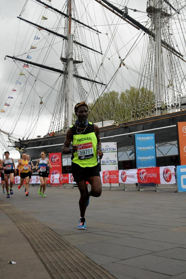 Michael Ndlovu - London Marathon 2019
