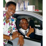 Car reward for Calvin Mawere