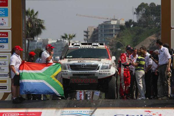 Toyota Imperial - Dakar 2013