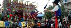 Mini-Carnivals liven Joburg