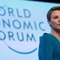 Theron wins WEF Crystal Award